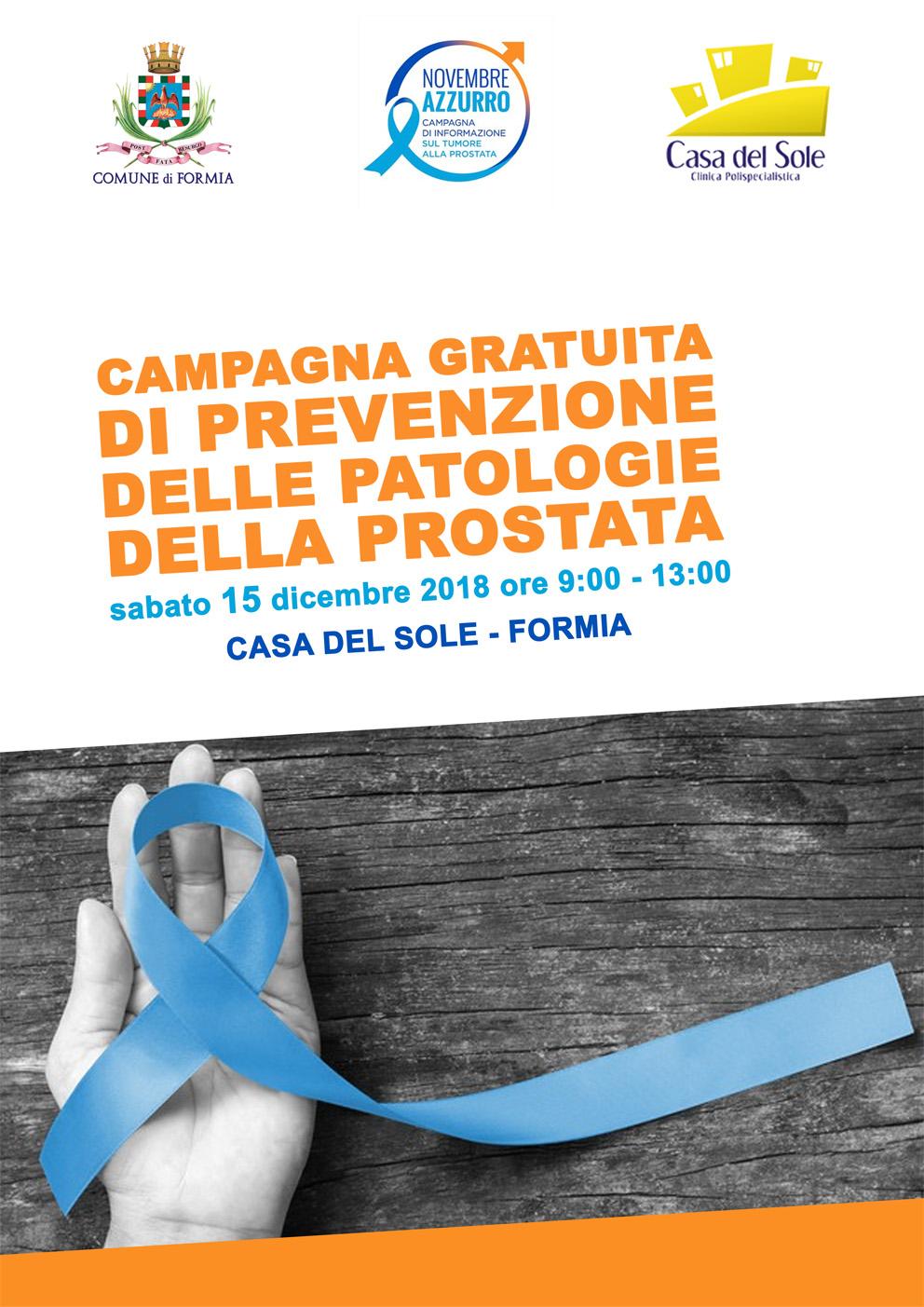 prevenzione tumore prostata parmalee