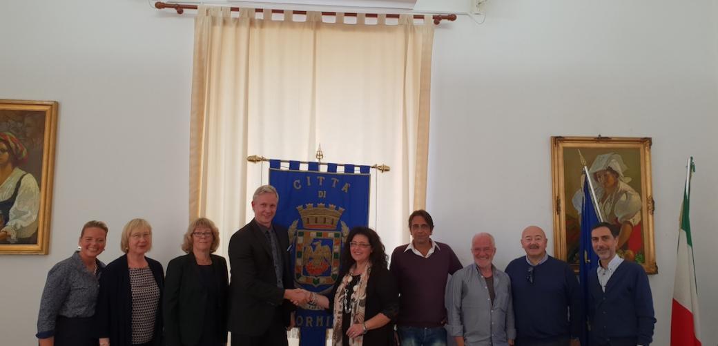 Delegazione svedese Haninge
