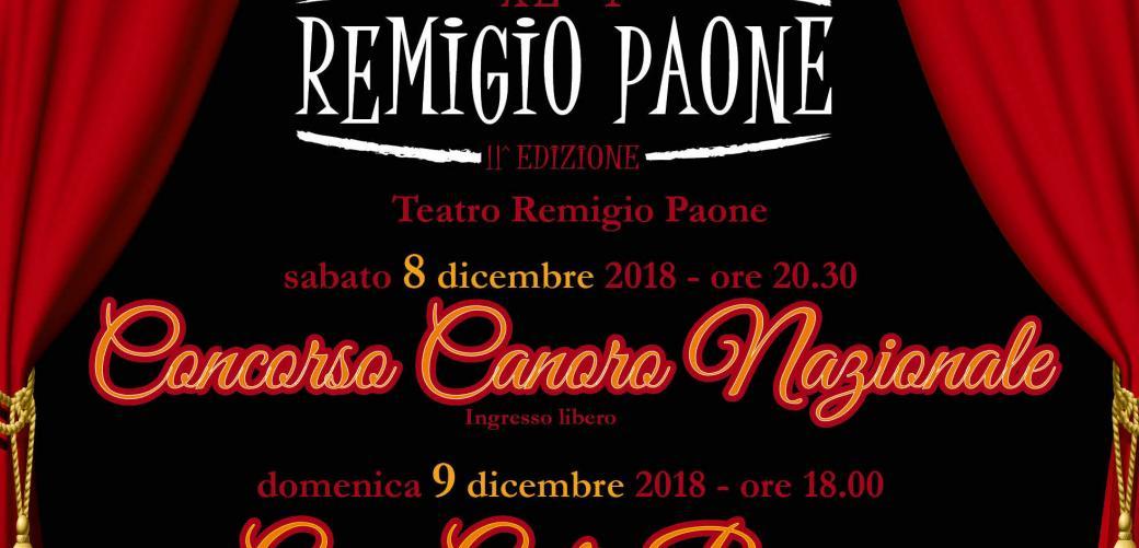 Premio Remigio Paone II^ EDIZIONE