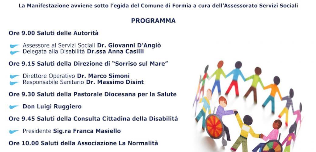 Giornata Internazionale Persone con disabilità - Formia