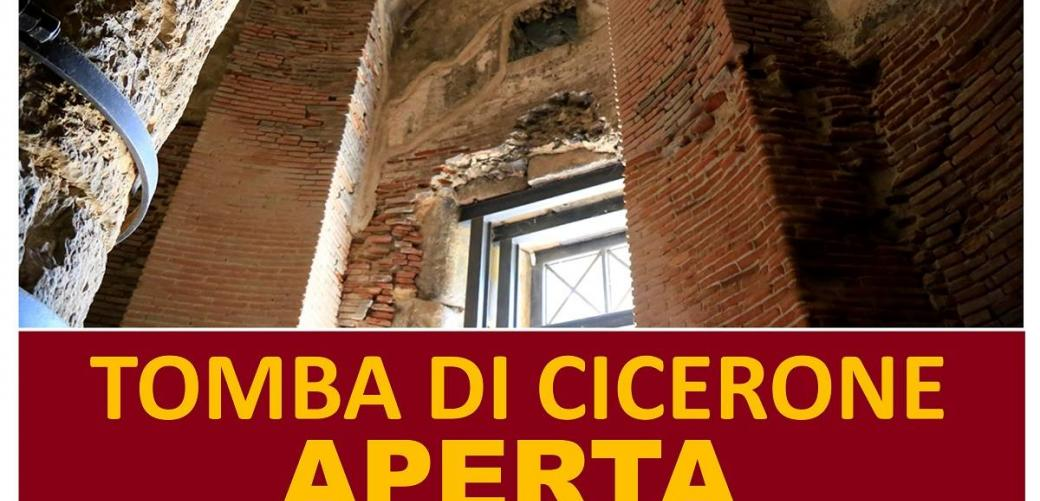 Tomba di Cicerone - aperta il 20 gennaio 2019