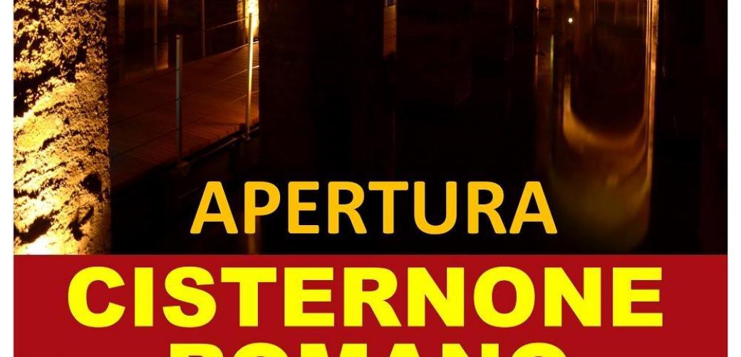 Apertura del Cisternone Romano con visite guidate