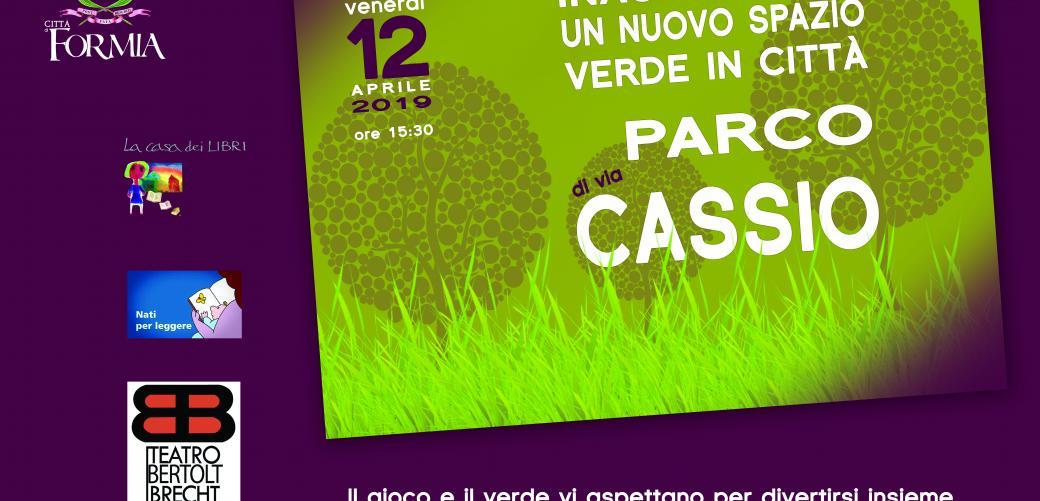 Inaugurazione Parco di Via Cassio