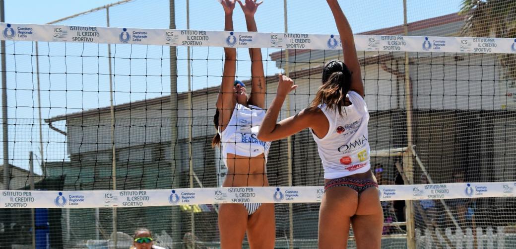 Presentato l'ICS Beach Volley Tour Lazio 2019: