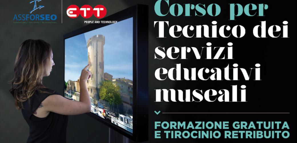 Corso per tecnico dei servizi educativi museali a Formia