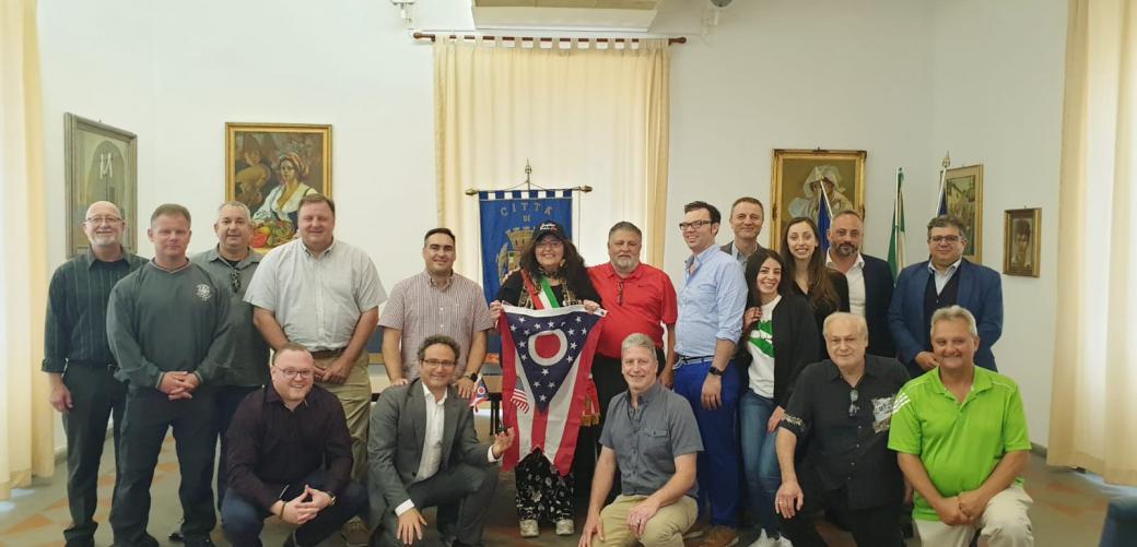A Formia la delegazione Columbus Italian Club