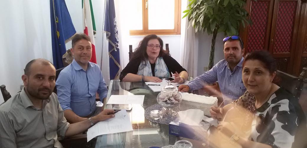 Incontro con i Comuni costieri compani di Sessa Aurunca e Cellole per la salvaguardia del mare