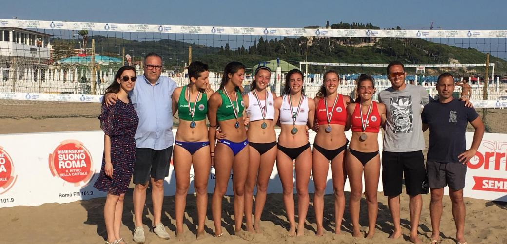 Beach Volley: le marchigiane Benigni-Cappelletti vincono la tappa tricolore under19 di Formia