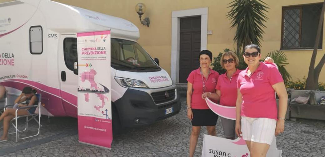 La Carovana della Prevenzione a Formia: risultati soddisfacenti per la tutela della salute femminile
