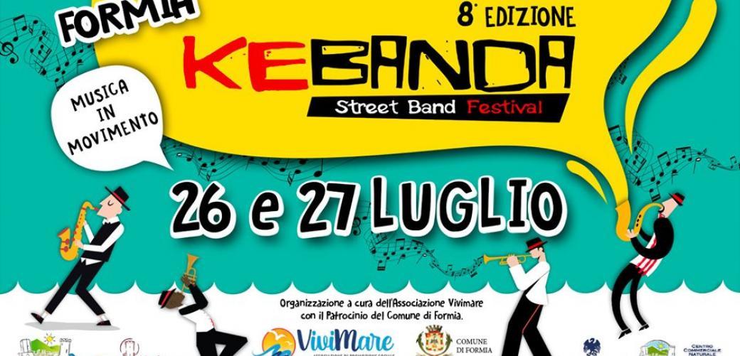 Torna il Kebanda Street Band Festival