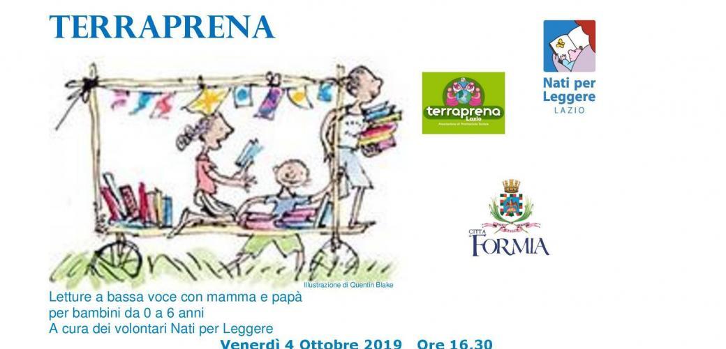 Booknik d'autunno a TerraPrena Lazio: letture a bassa voce con mamma e papà