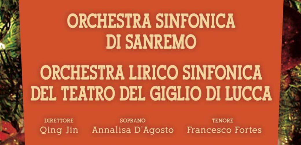 Concerto Orchestra Sinfonica di Sanremo e Orchestra Lirico Sinfonica del Teatro del Giglio di Lucca