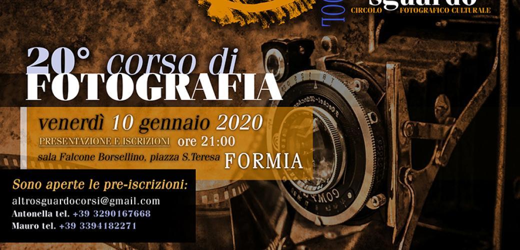 Al via il 10 gennaio i corsi di fotografia digitale organizzati dal circolo