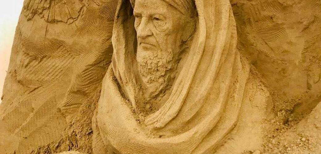 Inaugurazione del Presepe di Sabbia alla Corte Comunale