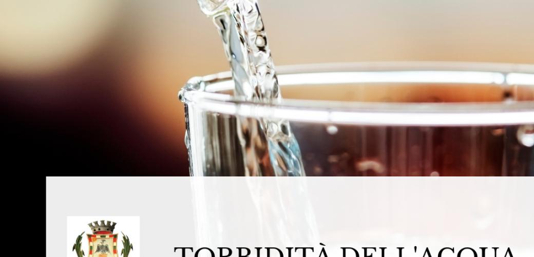 Fenomeno di torbidità dell'acqua nel comune di Formia