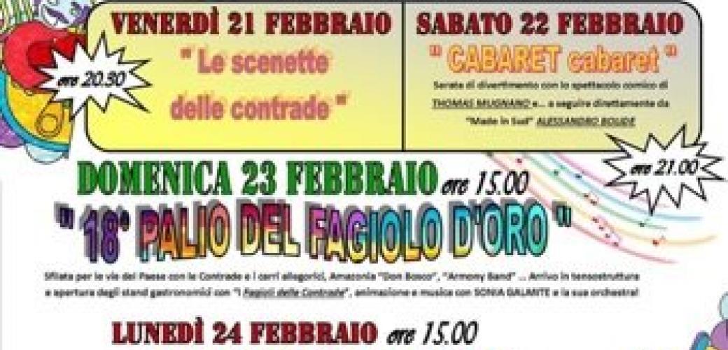 Ricco il programma di appuntamenti del Carnevale di Penitro organizzato dall'Eko Club International
