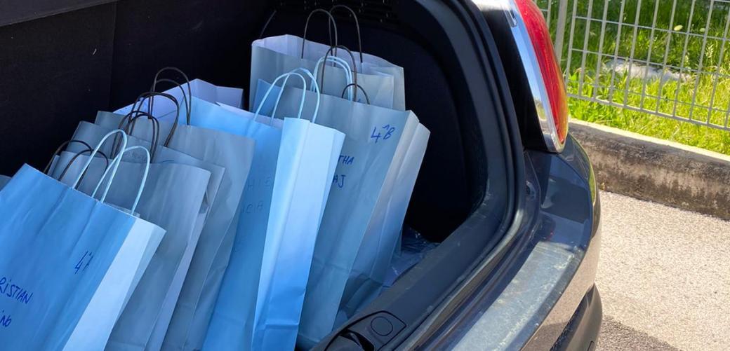 Gli studenti degli Istituti Comprensivi del Comune di Formia tornano in possesso del materiale scolastico lasciato a scuola