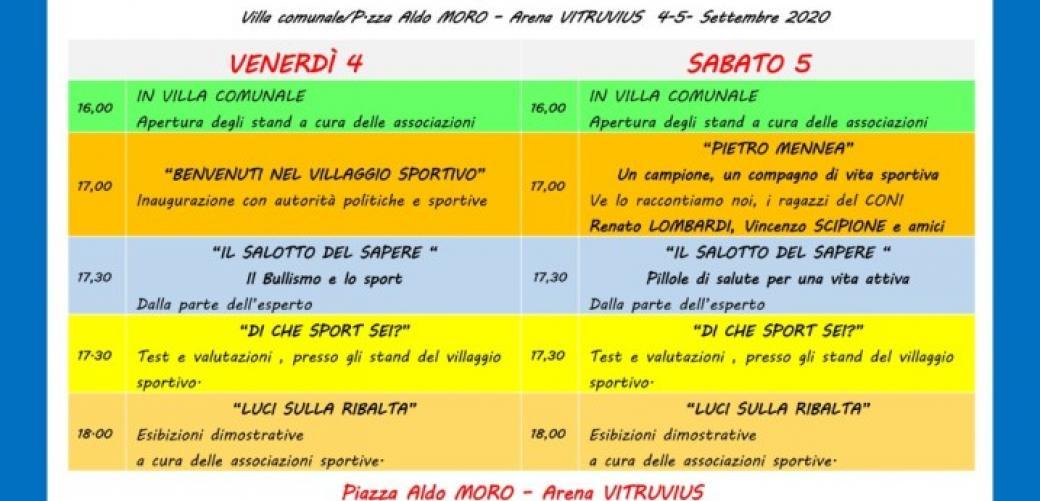 Open Day dello Sport con la Pro Loco di Formia