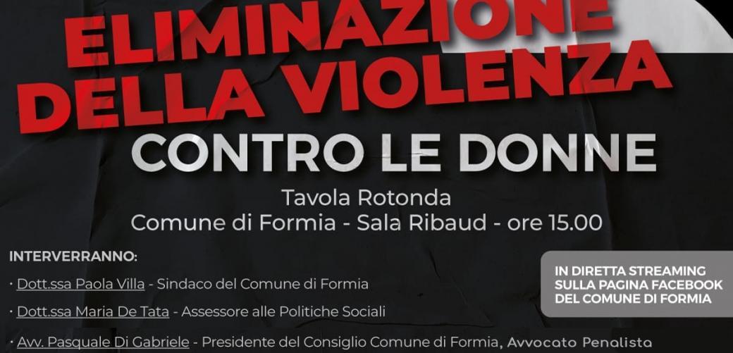 Mercoledì 25 novembre in sala Ribaud la tavola rotonda online sul Codice rosso e sulla violenza di genere