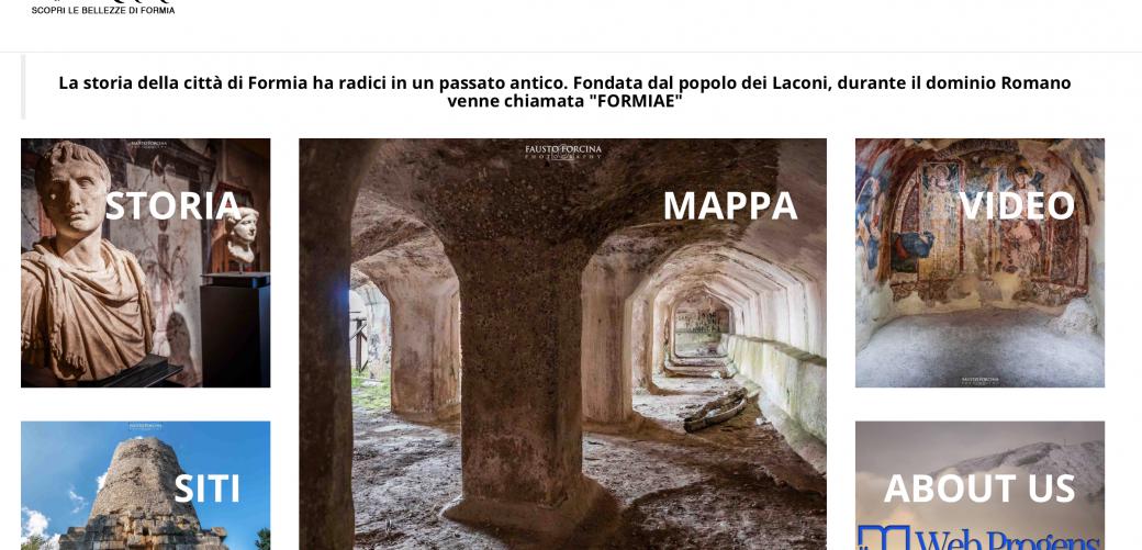 Riparte il progettoformiae.itcon i ragazzi delle scuole di Formia.